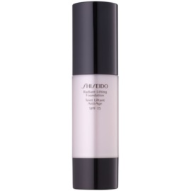Shiseido Base Radiant Lifting Lifting-Make-up für strahlende Haut LSF 15 Farbton I100 Very Deep Ivory 30 ml
