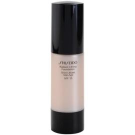 Shiseido Base Radiant Lifting rozjasňující liftingový make-up SPF15 odstín O40 Natural Fair Ochre 30 ml