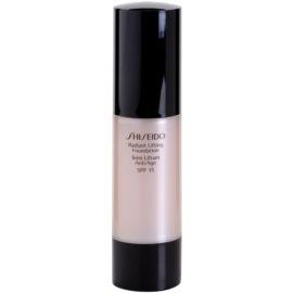 Shiseido Base Radiant Lifting Lifting-Make-up für strahlende Haut LSF 15 Farbton O60 Natural Deep Ochre 30 ml