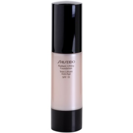 Shiseido Base Radiant Lifting Lifting-Make-up für strahlende Haut LSF 15 Farbton O60 Natural Deep Ochre 30 ml