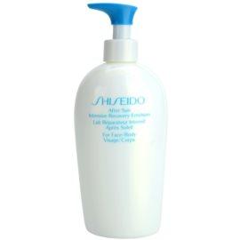 Shiseido Sun After Sun emulsão renovadora after sun para rosto e corpo  300 ml