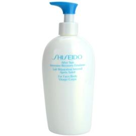 Shiseido Sun After Sun Vernieuwende After Sun Emulsie voor Gezicht en Lichaam   300 ml