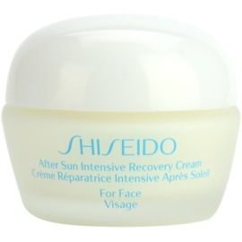 Shiseido Sun After Sun зволожуючий відновлюючий крем для обличчя   40 мл