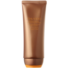 Shiseido Sun Self-Tanning Self Tan Emulsion For Body and Face  100 ml