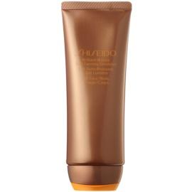 Shiseido Sun Self-Tanning emulsão autobronzeadora para corpo e rosto  100 ml