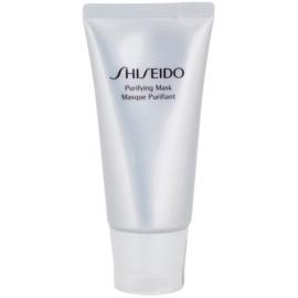 Shiseido The Skincare čisticí maska proti lesknutí pleti a rozšířeným pórům  75 ml