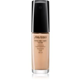 Shiseido Makeup Synchro Skin Glow Luminizing Fluid Foundation posvetlitvena podlaga SPF 20 odtenek Neutral 3 30 ml