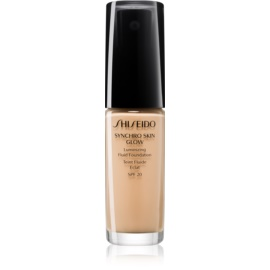 Shiseido Synchro Skin Glow auffrischendes Make-up SPF 20 Farbton Golden 3 30 ml