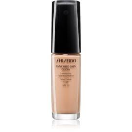 Shiseido Makeup Synchro Skin Glow Luminizing Fluid Foundation posvetlitvena podlaga SPF 20 odtenek Rose 3 30 ml
