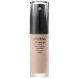 Shiseido Synchro Skin dolgoobstojen tekoči puder SPF 20 odtenek Rose 2 30 ml