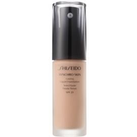 Shiseido Synchro Skin dolgoobstojen tekoči puder SPF 20 odtenek Rose 3 30 ml
