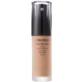 Shiseido Synchro Skin dolgoobstojen tekoči puder SPF 20 odtenek Rose 4 30 ml