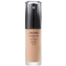 Shiseido Synchro Skin dolgoobstojen tekoči puder SPF 20 odtenek Neutral 4 30 ml