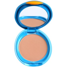 Shiseido Sun Foundation vodoodporni kompaktni puder SPF 30 odtenek Medium Ivory  12 g