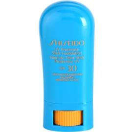 Shiseido Sun Foundation Waterproof Protective Foundation Stick SPF 30 Fair Ochre  9 g