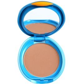 Shiseido Sun Foundation base compacta resistente à água SPF 30  tom Dark Ivory  12 g