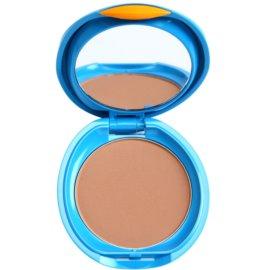 Shiseido Sun Foundation vodoodporni kompaktni puder SPF 30 odtenek Dark Ivory  12 g
