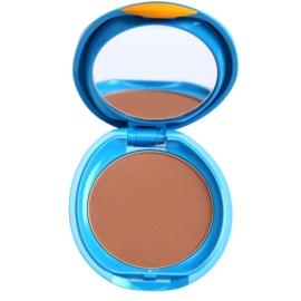 Shiseido Sun Foundation vízálló kompakt make - up SPF 30 árnyalat Dark Beige  12 g