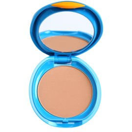 Shiseido Sun Foundation vízálló kompakt make - up SPF 30 árnyalat Medium Ochre  12 g