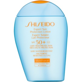 Shiseido Sun Protection Waterproef Zonnebrandcrème SPF 50+  100 ml