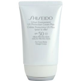 Shiseido Sun Protection UV Protection Cream Plus for Face and Body SPF 50 50 ml