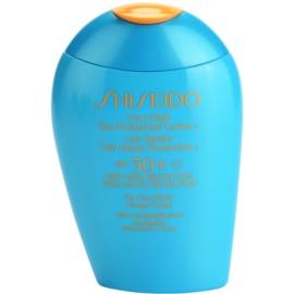 Shiseido Sun Protection Zonnebrandmelk voor Gezicht en Lichaam  SPF 50+  100 ml