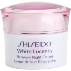 Shiseido White Lucency crema de noche hidratante contra problemas de pigmentación  40 ml