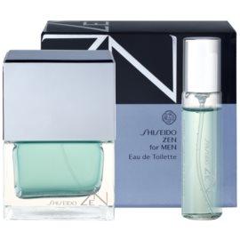 Shiseido Zen for Men подаръчен комплект II. тоалетна вода 100 ml + тоалетна вода 15 ml