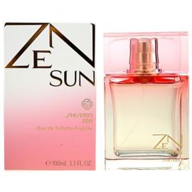 Shiseido Zen Sun Eau de Toilette für Damen 100 ml