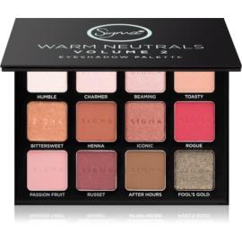 Sigma Beauty Warm Neutrals palette di ombretti  13,23 g