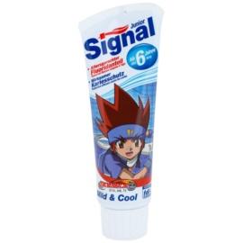 Signal Junior Beyblade zubní pasta pro děti příchuť Mild & Cool (From 6 Years) 75 ml