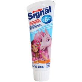 Signal Junior Mia and Me fogkrém gyermekeknek íz Mild & Cool (From 6 Years) 75 ml