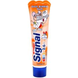 Signal Kids zobna pasta za otroke okus Bubble Gum (2-6) 50 ml