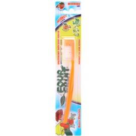 SilverCare Four Fruit Orange zubní kartáček pro děti s vůní soft