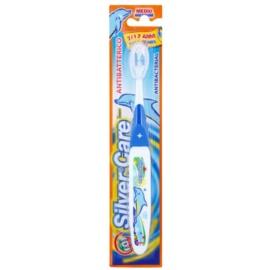 SilverCare Teen antibakteriální zubní kartáček pro děti medium