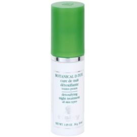 Sisley Botanical D-Tox sérum de noite para todos os tipos de pele  30 ml