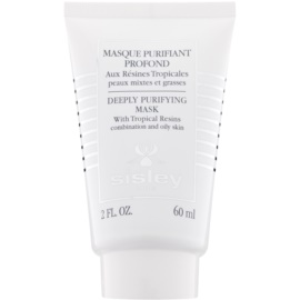 Sisley Tropical Resins  hĺbkovo čistiaca maska pre zmiešanú a mastnú pleť  60 ml