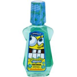 SmileGuard SpongeBob ústní voda pro děti s fluoridem příchuť Bubble Gum (Ages 6+ Sugar and Alcohol Free) 237 ml