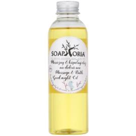 Soaphoria Babyphoria olje za masažo in kopel za lahko noč  za otroke  150 ml