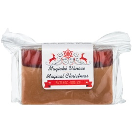 Soaphoria Magical Christmas jabón natural en barra  100 g