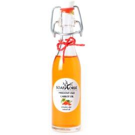 Soaphoria Organic vyživující mrkvový olej na obličej, tělo a vlasy  50 ml
