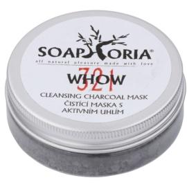 Soaphoria Organic čisticí maska s aktivním uhlím v prášku  50 ml