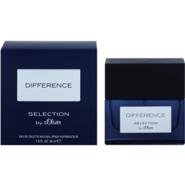 s.Oliver Difference Men Eau de Toilette für Herren 30 ml