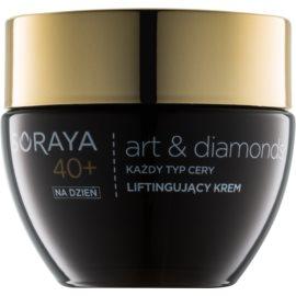 Soraya Art & Diamonds zpevňující denní krém s liftingovým efektem 40+  50 ml