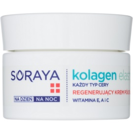 Soraya Collagen & Elastin regenerační pleťový krém s vitamíny  50 ml