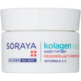 Soraya Collagen & Elastin crema de fata regeneratoare cu vitamine  50 ml