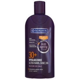 Soraya Anti Ageing hidratáló testápoló tej kisimító hatással 30+  400 ml