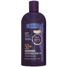 Soraya Anti Ageing hidratáló testápoló tej feszesítő hatással 50+  400 ml