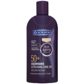 Soraya Anti Ageing hydratační tělové mléko se zpevňujícím účinkem 50+  400 ml