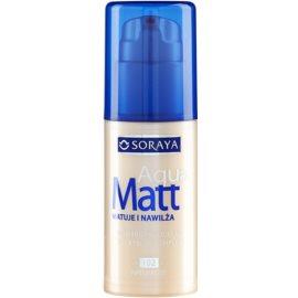 Soraya Aqua Matt matující make-up s hydratačním účinkem odstín 102 Natural 30 ml